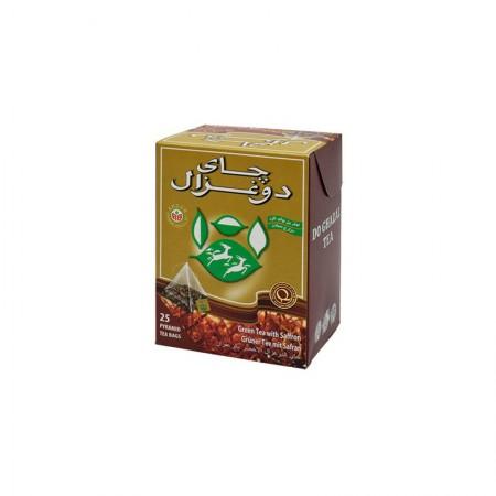 Do Ghazal Green Tea with Saffron 37.5 g
